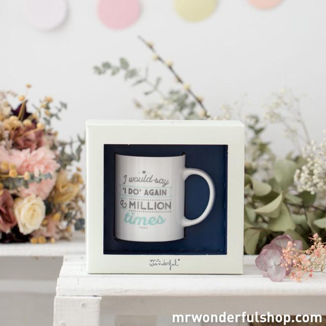 Mug - I would say 'I do' again a million times (ENG)