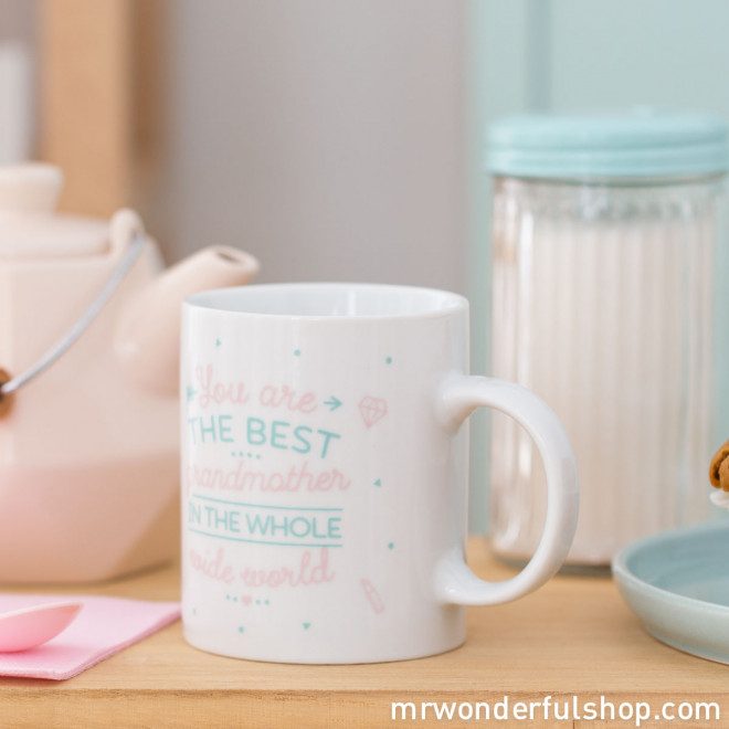 Mug - You are the best grandmother in the whole wide world (ENG)