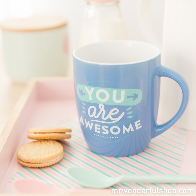 """Mug """"You are awesome"""" (ENG)"""