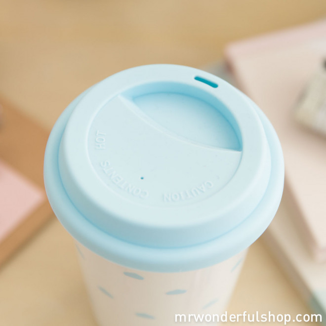 "Take away cup ""Smile! There are a million reasons to be happy! (ENG)"