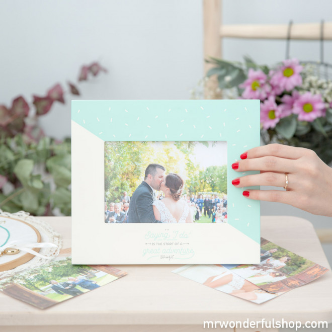 Photo frame - Saying \'I do\' is the start of a great adventure (ENG ...