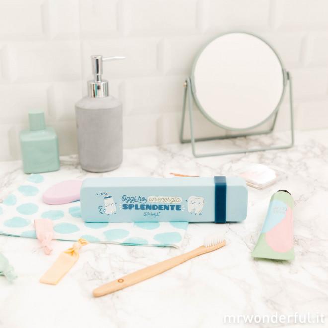 Nécessaire per lo spazzolino - Oggi ho un'energia splendente (IT)