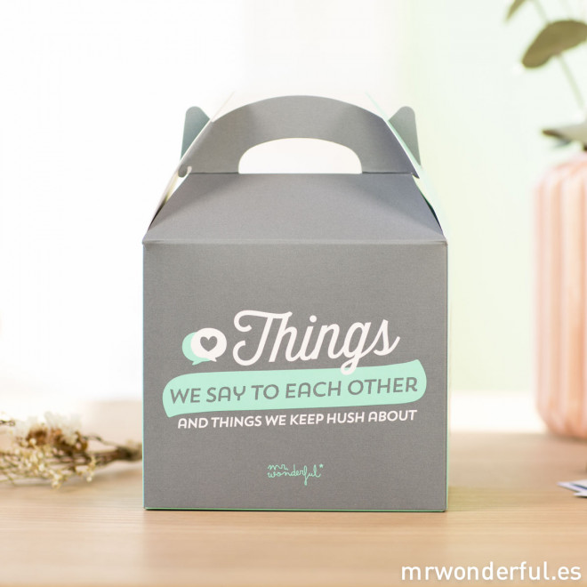 Kit - Things we say to each other and things we keep hush about