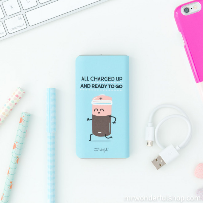 Power bank - All charged up and ready to go (ENG)