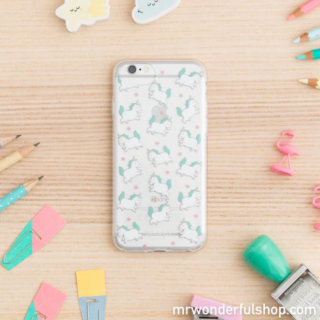 iphone 7 case mini unicorns mr wonderful. Black Bedroom Furniture Sets. Home Design Ideas
