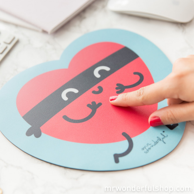Mouse Mat - Heart