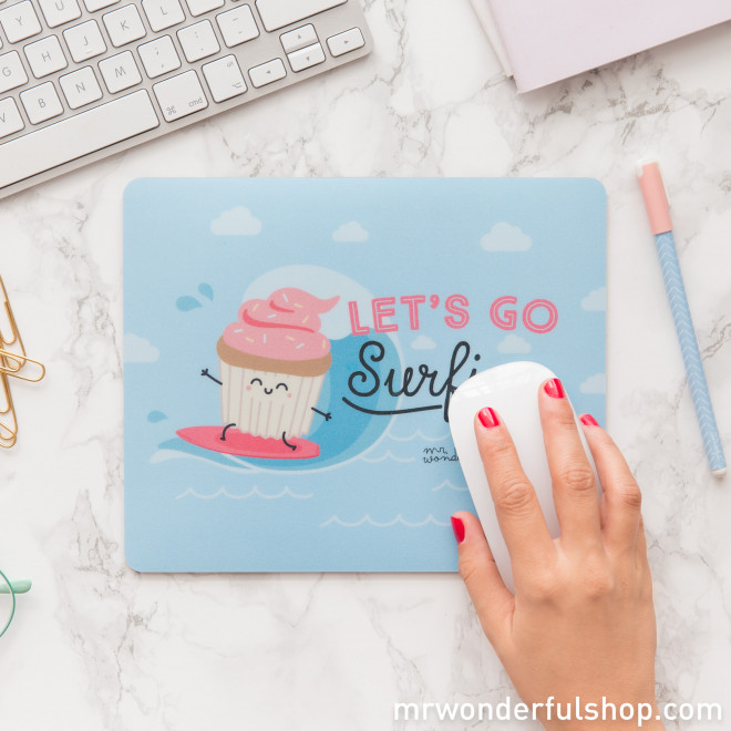 Mouse Mat - Let's go surfing (ENG)