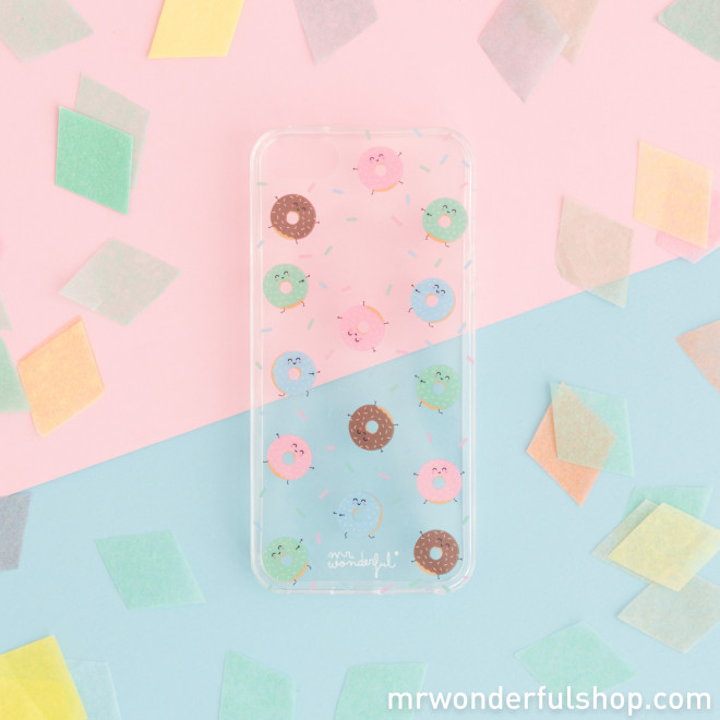 iPhone 5/5S case - Donuts