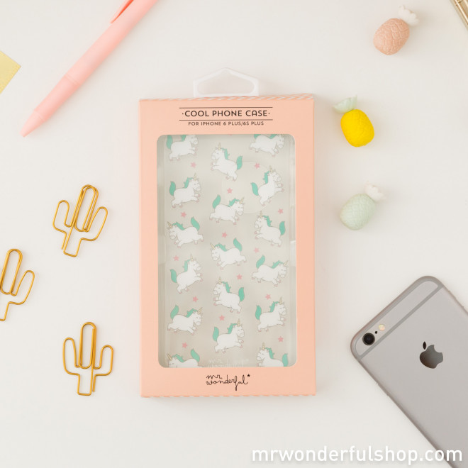 iPhone 6 Plus case - Unicorns