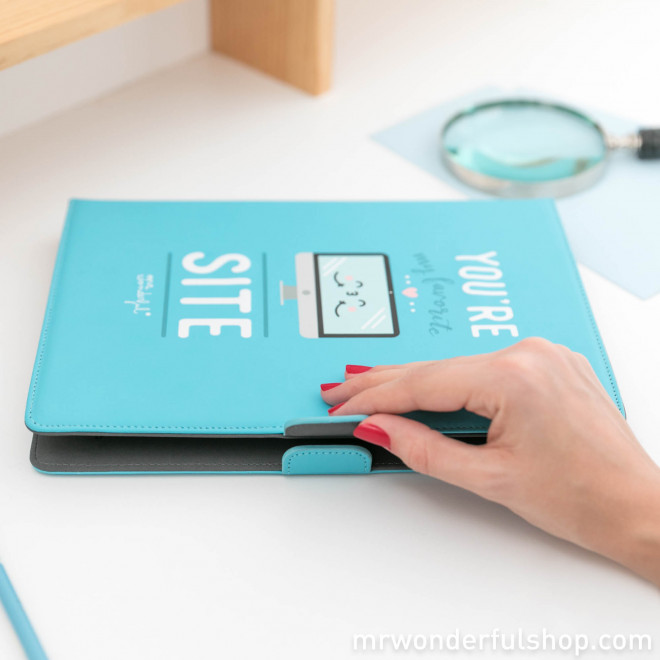 """Universal cover for 9.7"""" to 10.1"""" tablet - You are my favorite site (ENG)"""