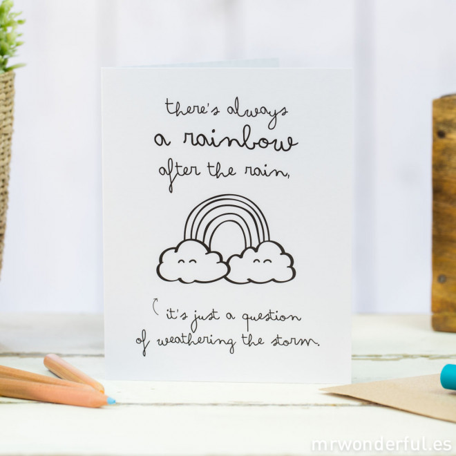 "Pack of 5 greeting cards - ""Wonder tips"""