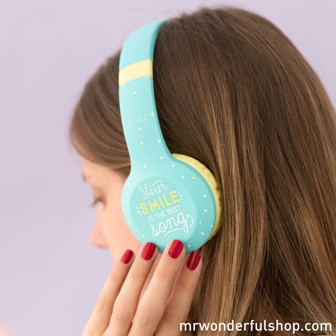 Wireless headphones - Your smile is the best song