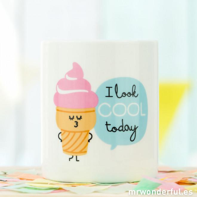 Mug - I look cool today