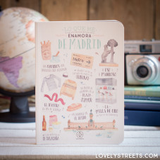 Notebook Lovely Streets - Lo que me enamora de Madrid