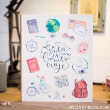Lovely Streets album - La vida es un bonito viaje