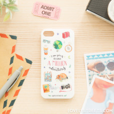 Lovely Streets case for iPhone 5S/S - A million adventures (ENG)