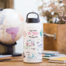 Aluminum bottle Lovely Streets - Aventuras