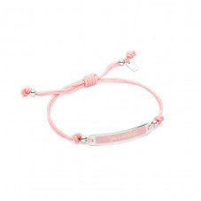 Pink Wonderful Words bracelet - You're wonderful