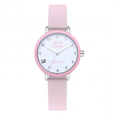 Reloj Rainbow rosa - Have a wonderful time