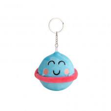 Squishy plush keyring - Planet