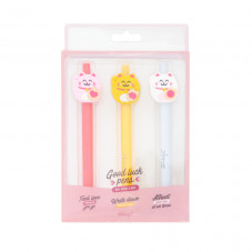 Pack of 3 pens with Maneki-neko shapes - Lucky Collection