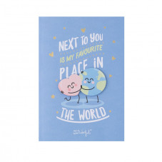 Greeting card - Next to you if my favorite