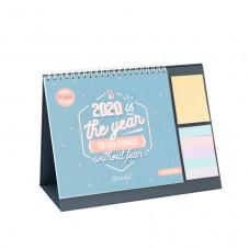 Desktop calendar - 2020 is the year to do