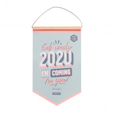 Wall calendar - Get ready, 2020: I'm coming for you!