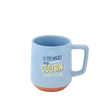 Mug - From East to West, my cousin is the best