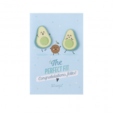 Greetings card - The perfect fit