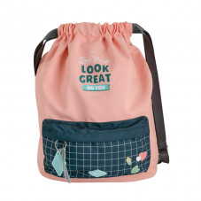 Drawstring bag - Good things look great on you