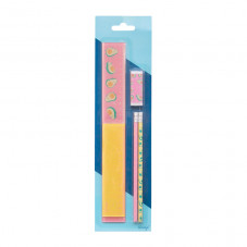 Ruler set including 30 cm and 15 cm rulers