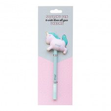 Pen with squishy - Unicorn