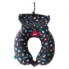 Travel neck pillow - Let's go on an adventure