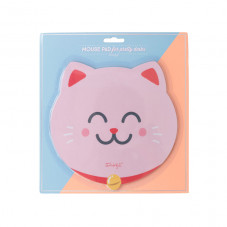 Mouse pad - Maneki-neko cat