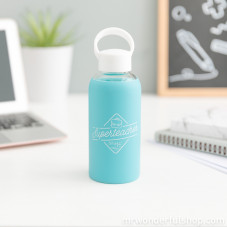 Glass bottle for superteachers (ENG)