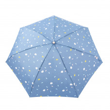 Small umbrella purple colour - Clouds pattern