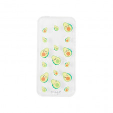 Transparent iPhone SE case - Avocados