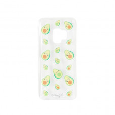 Transparent Samsung S9 case - Avocados