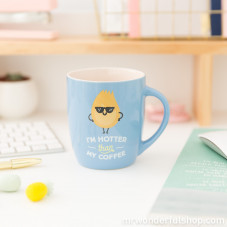 Mug - I'm hotter than my coffee (ENG)