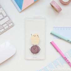 Transparent iPhone 6 Plus case - Fairy cake