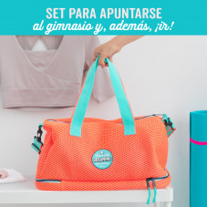 Kit for you to join the gym and actually go!