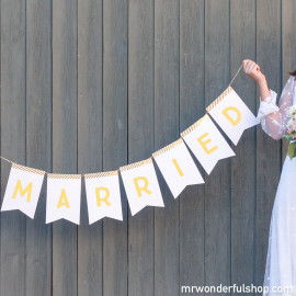 Lettered Paper Bunting (ENG)