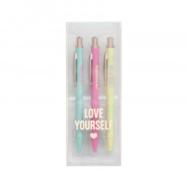Pack of 3 pens - The Powerful Collection