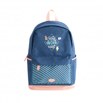 Backpack - Be kind and work hard