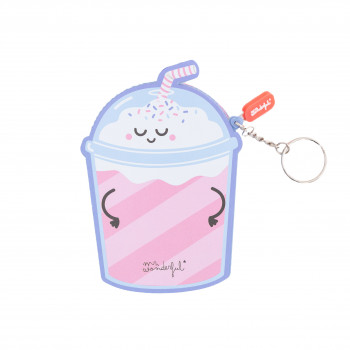 Milkshake-shaped purse