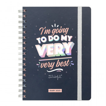 Classic diary 2020 Week view