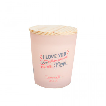 Candle - I love you for a million-and-one reasons, Mum!