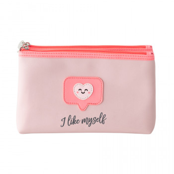 Double toiletry bag - I like myself