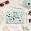 Wristlet Lovely Streets - Sketch the world Adventure awaits